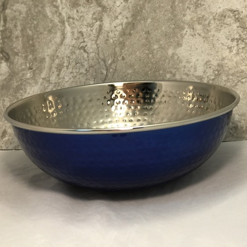 Blue Bowl - Metal