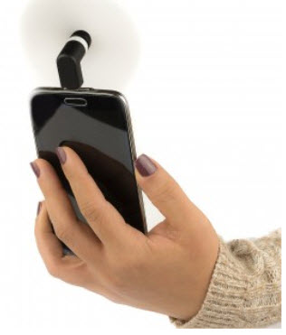 Micro USB/iPhone Smartphone Fan