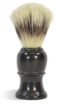 Black Shaving Brush - Made with boar bristle!