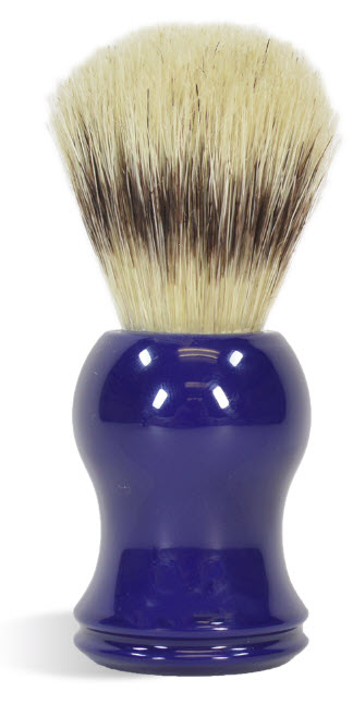 Blue Shaving Brush - Elite, Made with boar bristle!