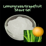 Organic Shaving Gel - Lemongrass/Grapefruit