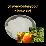 Organic Shaving Gel - Orange/Cedarwood
