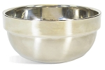 Silver Shave Bowl