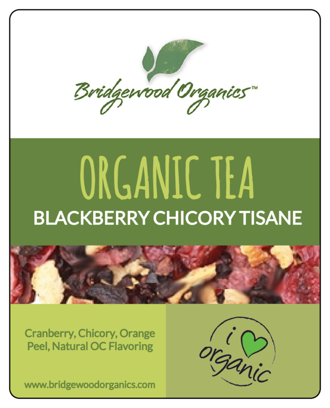 Blackberry Chicory Tisane - Organic