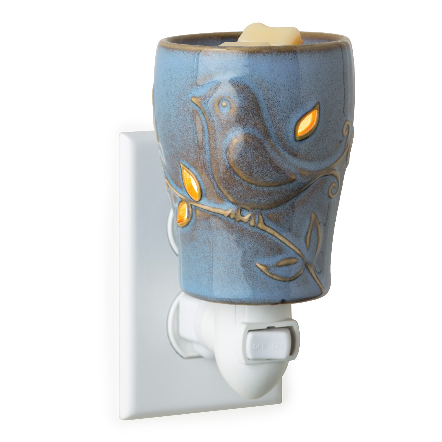 Blue Bird Plug=in Candle Warmer