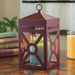 Mission Candle Warmer Lantern - Brick